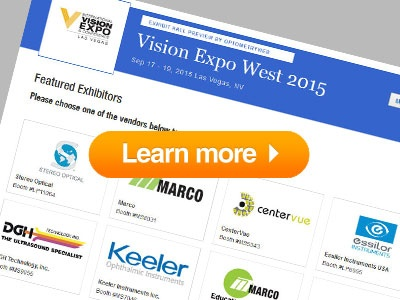 Now Available: OptometryWeb's Vision Expo West Exhibit Hall Preview