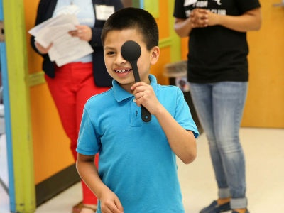 Boys & Girls Clubs of America, National Vision Kick Off National Eye Health Partnership