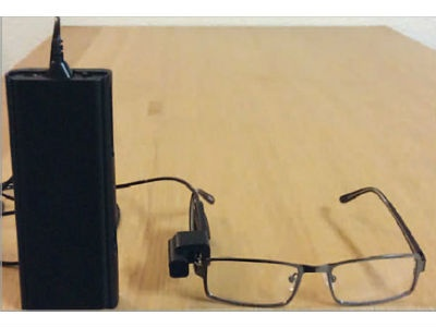 Mini Eyeglass Camera May Provide Greater Independence for People with Low Vision