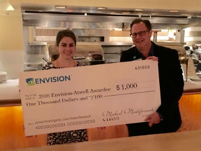 NECO Student Named 2016 Recipient of Envision-Atwell Award