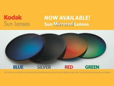 Signet Armorlite Adds Mirrored Lenses to Kodak Sun Lens Line ...