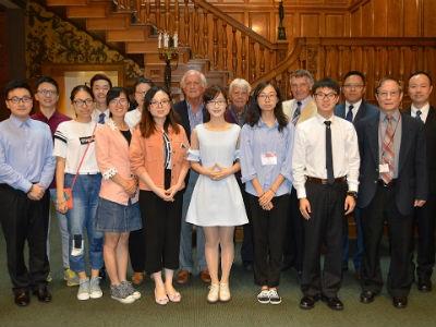 NECO Hosts Chinese Optometry Students for Global Health Leadership Development Program
