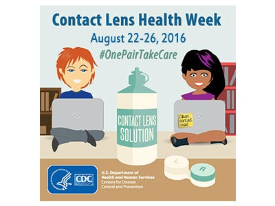 Get Ready for Contact Lens Health Week!