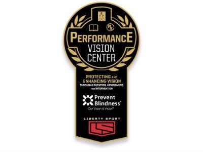 Prevent Blindness, Liberty Sport Launch Performance Vision Center Award