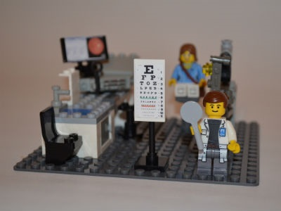 Optometrist Builds Pride in Profession with LEGO Playset