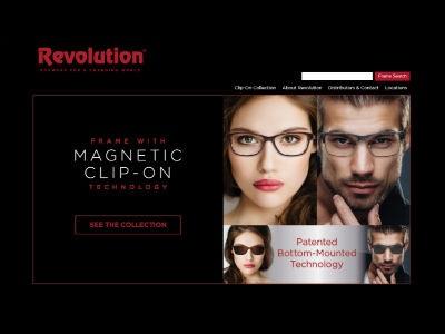 Revolution Eyewear Launches New Website