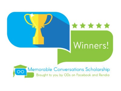 Rendia, ODs on Facebook Announces Optometry Student Scholarship Winners