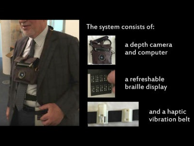 MIT Researchers Develop Wearable Navigation System for the Visually Impaired