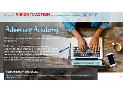 J&J Launches Advocacy Academy