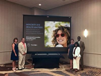 Transitions Optical Hosts Panel on Minority Eye Health