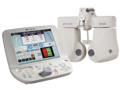 CV-5000S Automated Vision Tester from Topcon Medical Systems