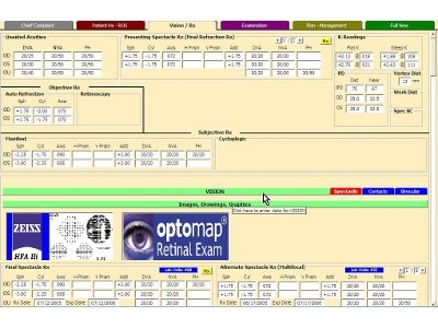 ExamWRITER Electronic Medical Records from OfficeMate Software Solutions