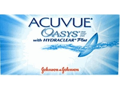 ACUVUE OASYS  with HYDRACLEAR PLUS from Vistakon, a Johnson & Johnson Company