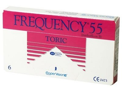 Frequency 55 Toric from CooperVision