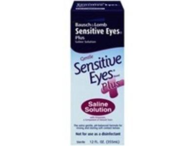 Sensitive Eyes Plus Saline Solution