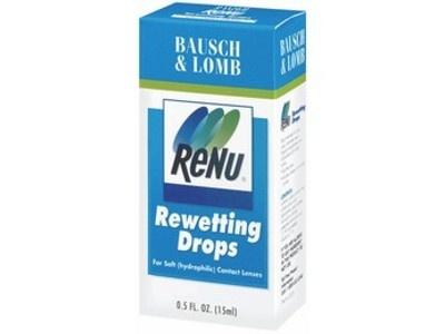 Renu Rewetting Drops from Bausch & Lomb, Inc.