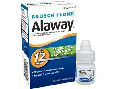 Alaway Antihistamine Eye Drops from Bausch & Lomb, Inc.