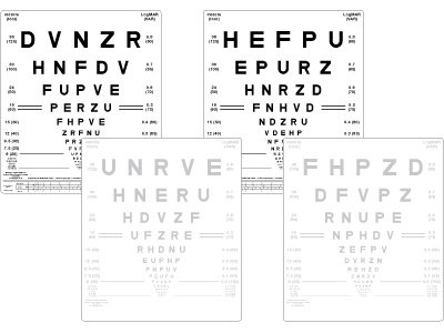 Visual Acuity Distance Charts | OptometryWeb: The Ultimate