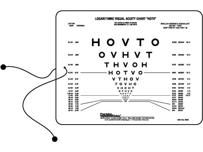 Near Visual Acuity Charts Near Vision Acuity Chart Optometryweb