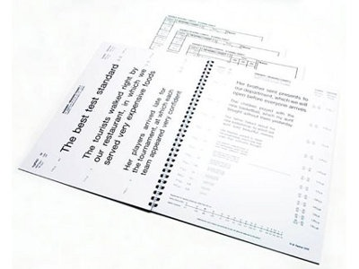 Radner Reading Test from Precision Vision®