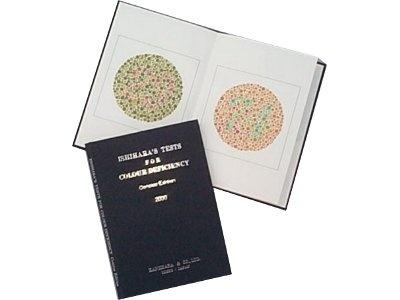 Ishihara Test 24 Plate Book
