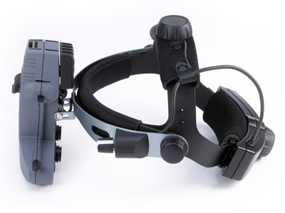 All Pupil II Indirect Ophthalmoscope – LED Slimline Wireless - with Convertible Technology from Keeler Instruments Inc.