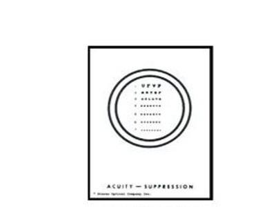 Accuity Suppression Vectogram