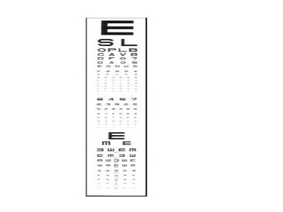 Adult Acuity Projector Slide