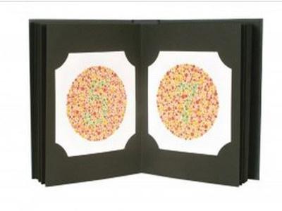 Original Ishihara Color Test 24-Plate