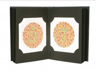 Original Ishihara Color Test 38-Plate
