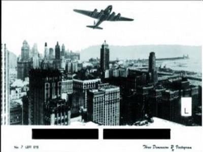 Chicago Skyline Vectogram